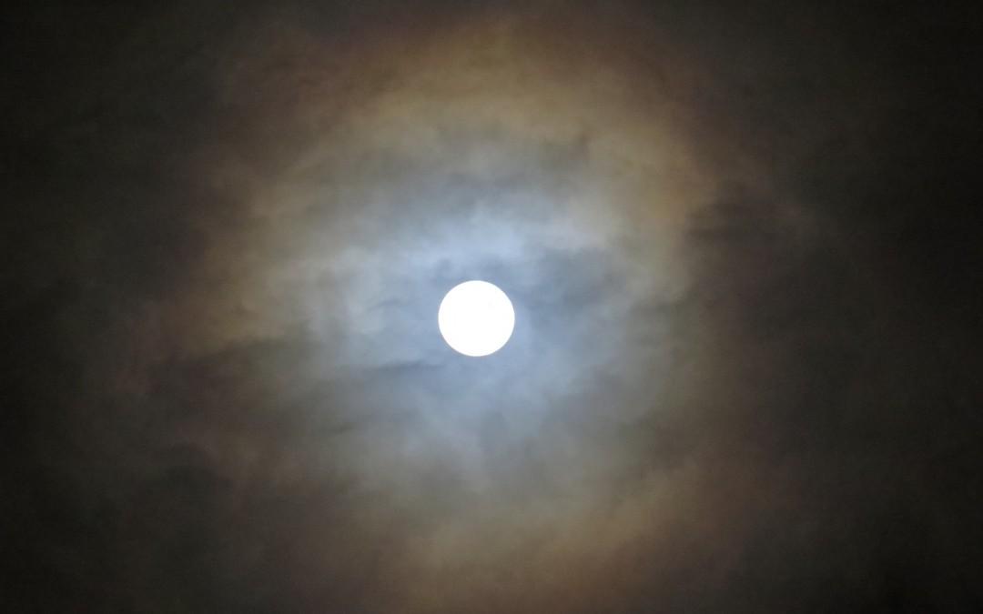 La pleine lune : lundi 22 février