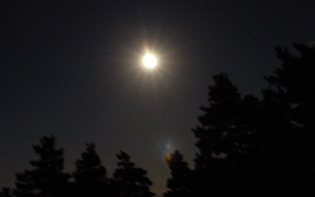 profitons de cette nouvelle pleine lune