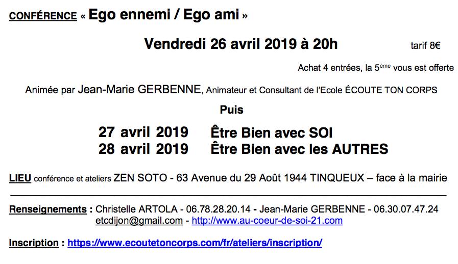 conférence à Reims